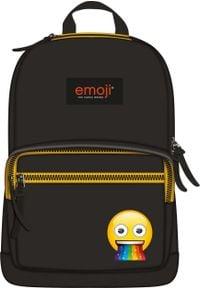 St. Majewski Plecak 1-komorowy Emoji czarny. Kolor: czarny