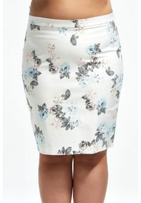 Spódnica Moda Size Plus Iwanek na lato, klasyczna, plus size