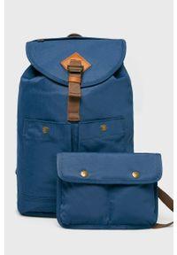 Niebieski plecak Doughnut w paski