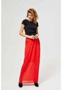 Czerwona spódnica MOODO do kostek