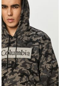 columbia - Columbia - Bluza. Okazja: na co dzień. Typ kołnierza: kaptur. Kolor: czarny. Materiał: dzianina. Styl: casual #3