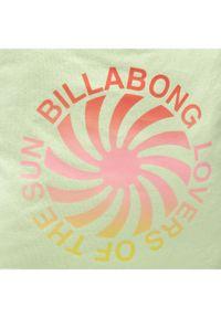 Billabong Torebka Surf Tote W9BG02BIP1 Zielony. Kolor: zielony