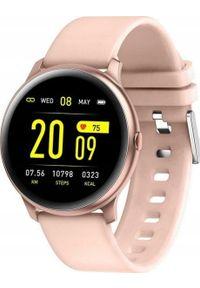 Smartwatch Pacific 25-5 Różowy (PACIFIC 25-5 różowy). Rodzaj zegarka: smartwatch. Kolor: różowy