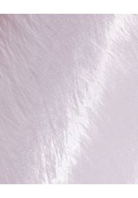 MACH&MACH - Jedwabna spódnica midi. Stan: podwyższony. Kolor: różowy, wielokolorowy, fioletowy. Materiał: jedwab. Styl: elegancki