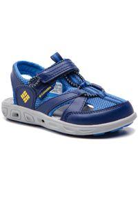 Niebieskie sandały columbia na lato