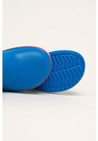 Niebieskie kalosze Crocs