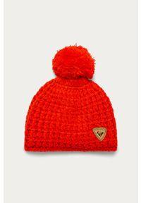 Pomarańczowa czapka Rossignol
