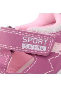 Różowe sandały Imac