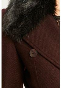 Brązowy płaszcz Morgan casualowy, na co dzień