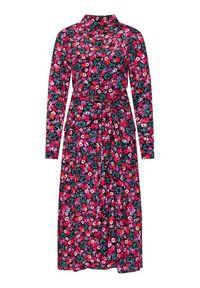 Guess Sukienka koszulowa W1RK90 WDDE0 Kolorowy Regular Fit. Okazja: na co dzień. Wzór: kolorowy. Typ sukienki: proste, koszulowe. Styl: casual