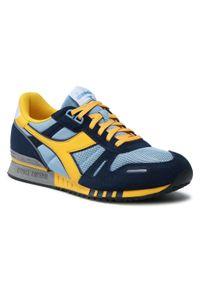 Diadora - Sneakersy DIADORA - Titan 501.177355 01 C4557 Sky Blue Grey/Spectra Yel. Okazja: na co dzień. Kolor: niebieski. Materiał: skóra, materiał, zamsz. Szerokość cholewki: normalna. Styl: casual