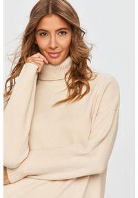 Beżowy sweter Answear Lab na co dzień, wakacyjny