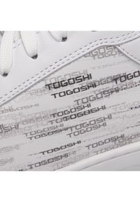 Białe sneakersy Togoshi #6