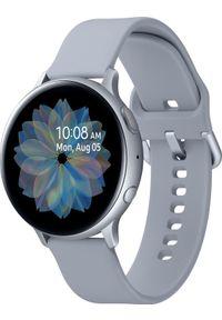 SAMSUNG - Smartwatch Samsung Galaxy Watch Active 2 44mm Silver Alu Szary (SM-R820NZSAXEO). Rodzaj zegarka: smartwatch. Kolor: szary