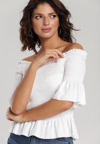 Renee - Biała Bluzka Nerissa. Kolor: biały #2