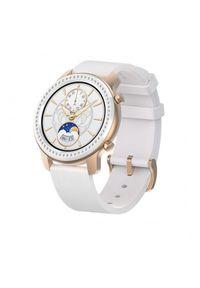 Biały zegarek Huami elegancki, smartwatch