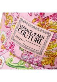 Versace Jeans Couture - Czapka z daszkiem VERSACE JEANS COUTURE - E8YWAK14 80157 O37. Kolor: różowy. Materiał: materiał, bawełna