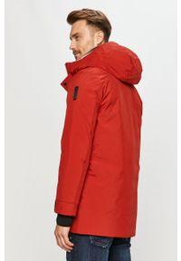 Czerwona kurtka Bomboogie z kapturem