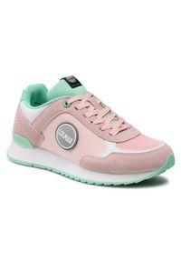 Colmar - Sneakersy COLMAR - Travis Colors 136 Lt Pink/Water Green. Okazja: na co dzień. Kolor: różowy. Materiał: zamsz, materiał, skóra. Szerokość cholewki: normalna. Sezon: lato. Styl: casual