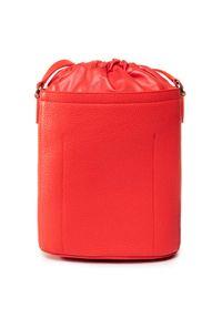 Czerwona torebka worek Furla