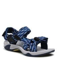 Sandały CMP - Kids Hamal Hiking Sandal 38Q9954 Cosmo/Royal. Kolor: niebieski. Materiał: materiał. Sezon: lato. Styl: klasyczny