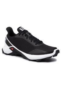 Czarne buty do biegania salomon z cholewką