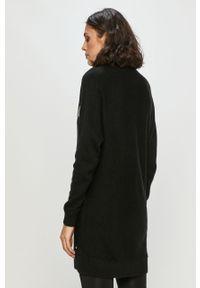 Czarna sukienka Calvin Klein Jeans casualowa, mini
