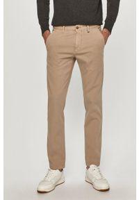 Marc O'Polo - Spodnie. Okazja: na co dzień. Kolor: beżowy. Materiał: tkanina. Wzór: gładki. Styl: casual