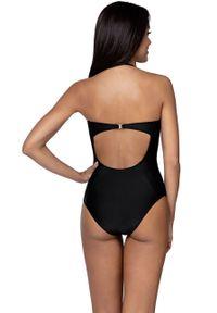 Czarny strój kąpielowy Lorin z fiszbinami