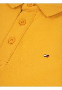 Żółty t-shirt polo TOMMY HILFIGER polo