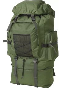 Zielony plecak vidaXL militarny