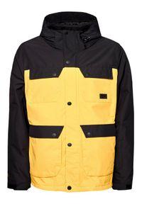 Rip Curl Kurtka snowboardowa Cabin SCJDV4 Żółty Regular Fit. Kolor: żółty. Sport: snowboard