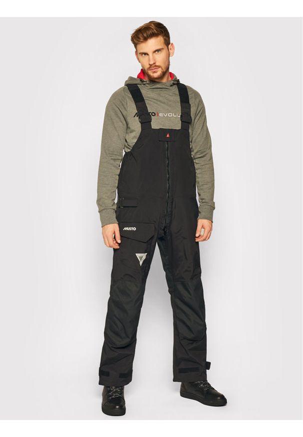 Musto Spodnie żeglarskie BR1 Trs 80855 Czarny Regular Fit. Kolor: czarny. Sport: żeglarstwo