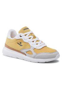 Wrangler Sneakersy Cruise WM11050A Żółty. Kolor: żółty