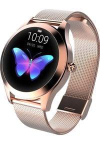 Smartwatch KingWear KW10 Złoty (26685). Rodzaj zegarka: smartwatch. Kolor: złoty