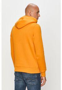 Pomarańczowa bluza nierozpinana Jack & Jones casualowa, z nadrukiem