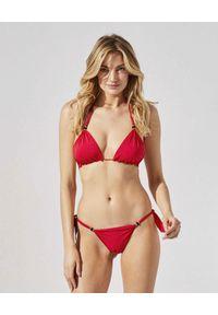 PRAIA BEACHWEAR - Czerwone bikini Girl On Fire. Kolor: czerwony. Materiał: koronka, materiał
