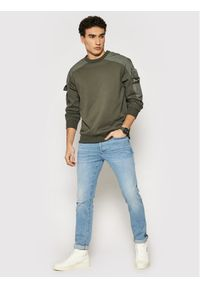 G-Star RAW - G-Star Raw Bluza Container R Sw D19836-A613-1260 Szary Relaxed Fit. Kolor: szary