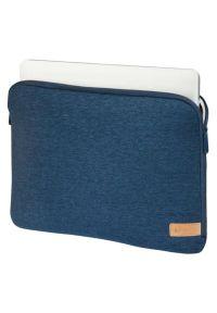 Niebieskie etui na laptopa hama eleganckie, w kolorowe wzory