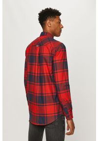 Wielokolorowa koszula Tommy Jeans na co dzień, z długim rękawem