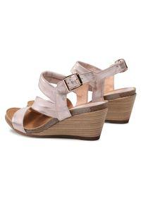 Różowe sandały Baldaccini