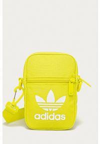 adidas Originals - Saszetka. Kolor: żółty