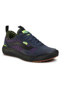 Niebieskie sneakersy Vans Gore-Tex, z cholewką