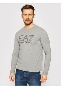EA7 Emporio Armani Longsleeve 3KPT64 PJ03Z 3905 Szary Regular Fit. Kolor: szary. Długość rękawa: długi rękaw