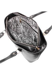 Czarna torba na laptopa MCKLEIN paisley, biznesowa