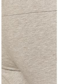 Szare spodnie dresowe medicine gładkie