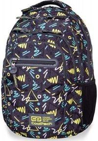 Patio Plecak szkolny Coolpack Cp Rfid czarny. Kolor: czarny