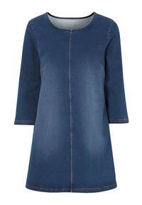 Niebieska tunika Cellbes elegancka
