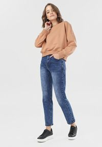 Niebieskie jeansy Born2be #5