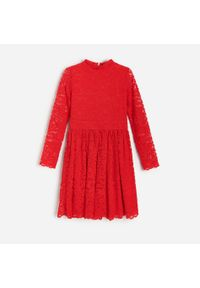 Czerwona sukienka Reserved